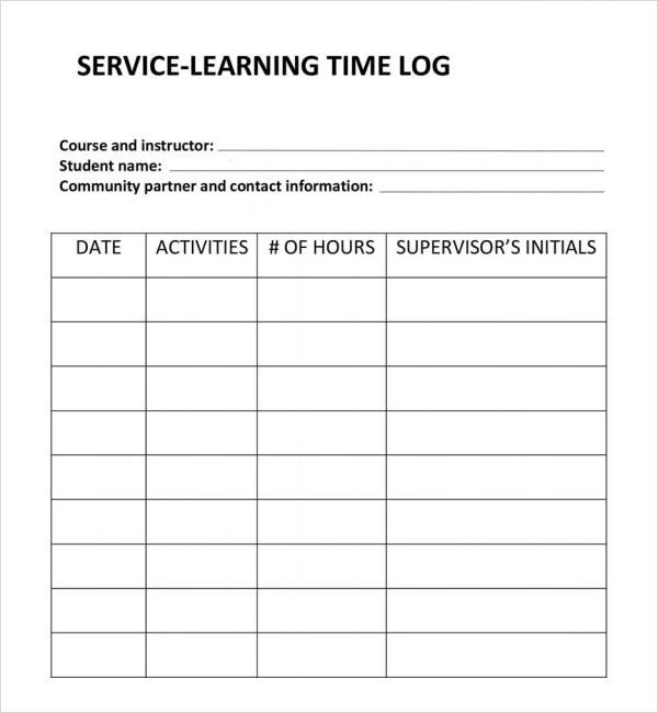 weekly work log sheet template tool sign out excel employees