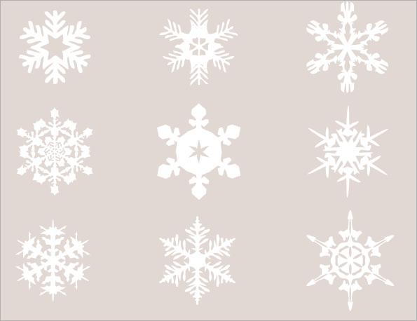 snow flake template - Josemulinohouse - snowflake template