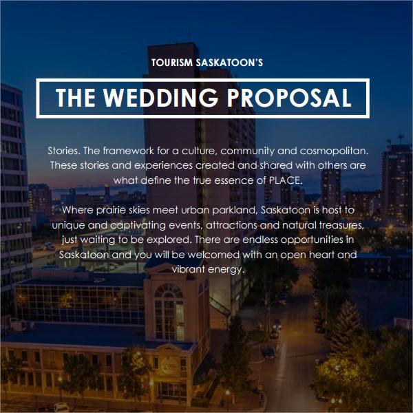 8+ Wedding Proposal Templates-PDF