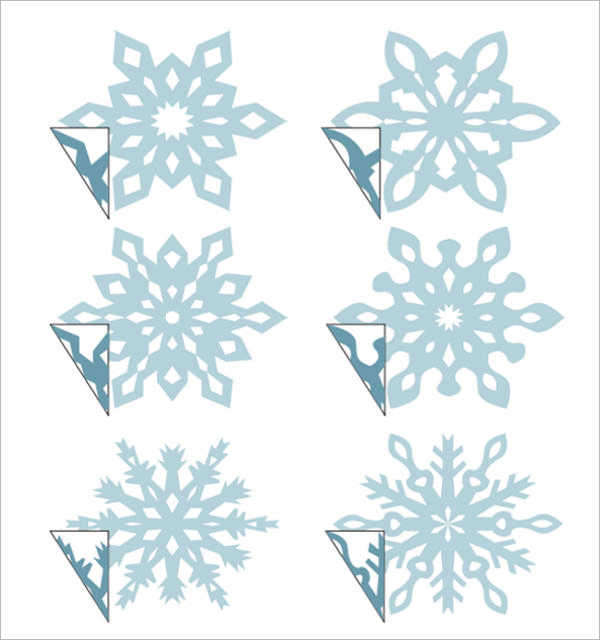 8+ Sample Awesome Snowflake Templates to Download Sample Templates - snowflake template