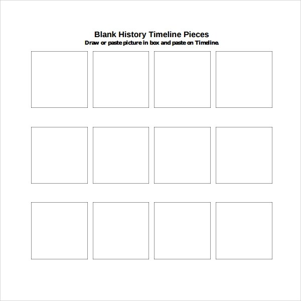 5+ Blank Timeline Templates Sample Templates