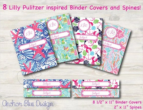 8+ Sample Binder Cover Templates Sample Templates