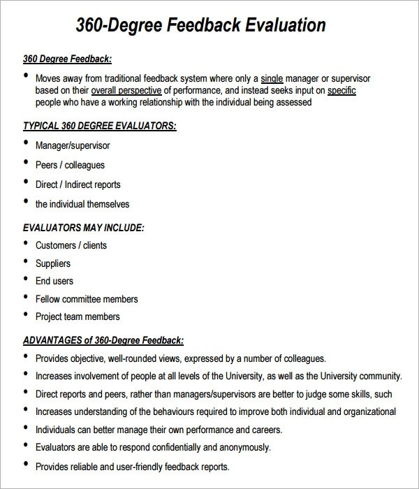 Sample  Degree Performance Evaluation Form  Marketing