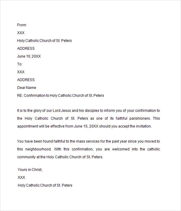 Letter confirming employment template - visualbrainsinfo