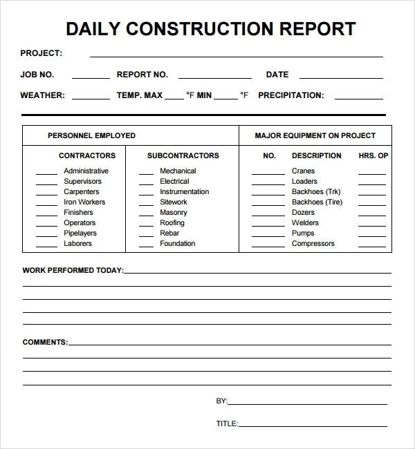 Doc891539 Daily Project Status Report Template Project Status – Daily Project Status Report Template