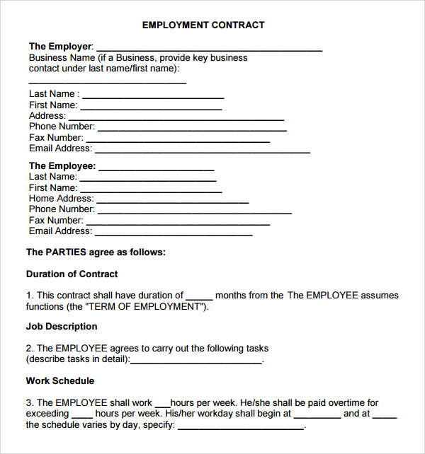 Employment Termination Agreement Template – Employment Termination Agreement Template