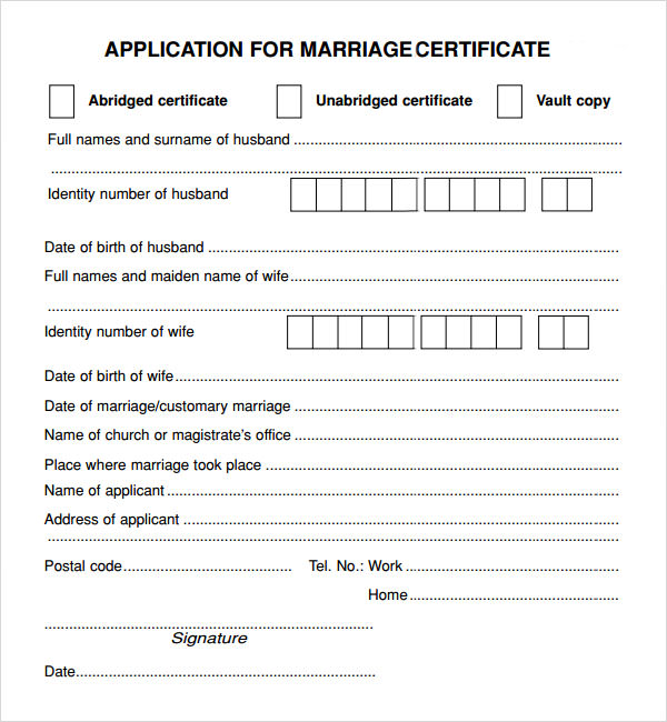 Marriage Contract Template - 7+ Download Free Documents in PDF, Word - marriage contract template