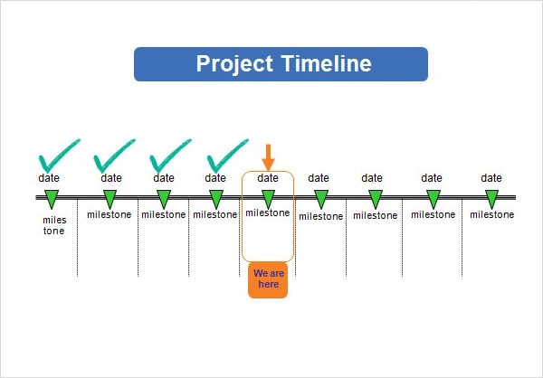 15 Sample Project Timeline Templates to Download Sample Templates - project milestone template ppt