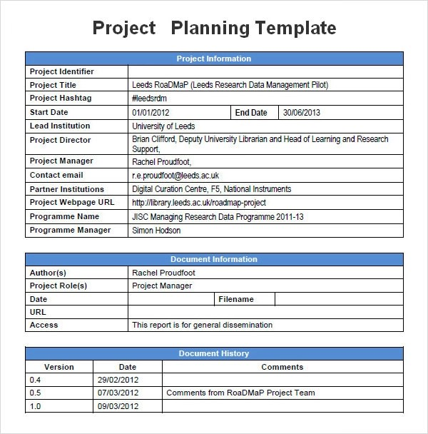 project management templates word - Maggilocustdesign