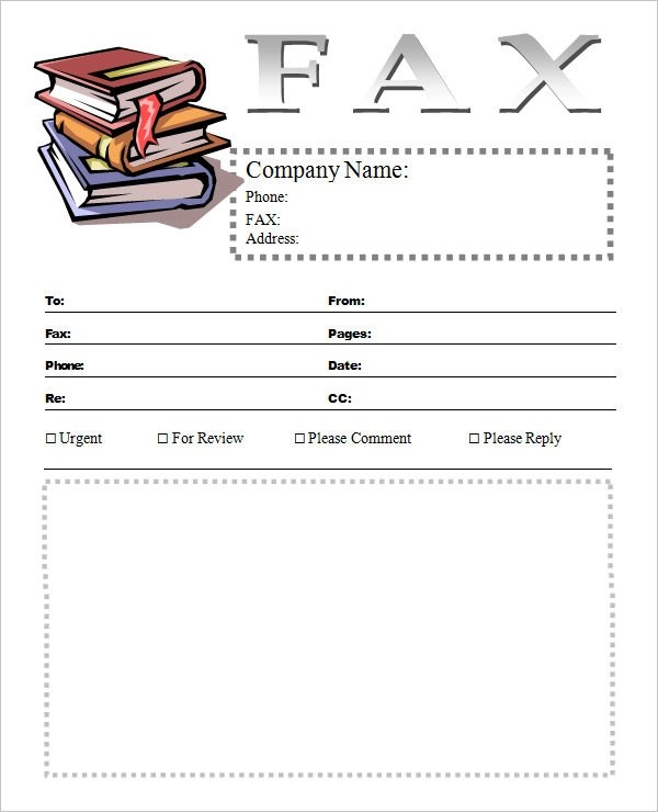 10+ Cover Sheet Templates Sample Templates - Fax Cover Sheet For Word
