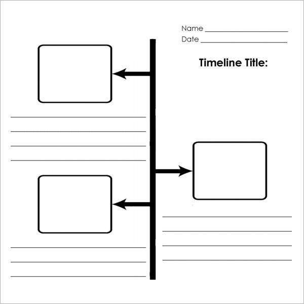 blank timeline worksheet - Selol-ink