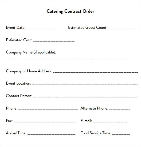 Sample Transportation Contract Templates – Change Order Template Example