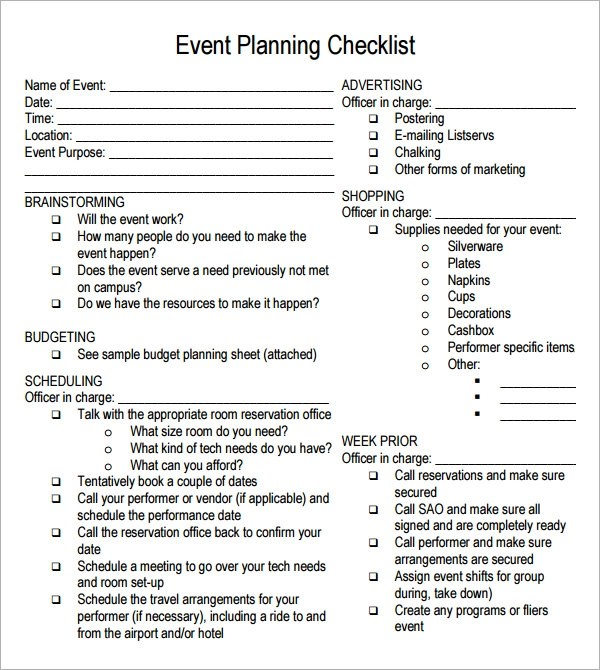 free party planning template - Josemulinohouse
