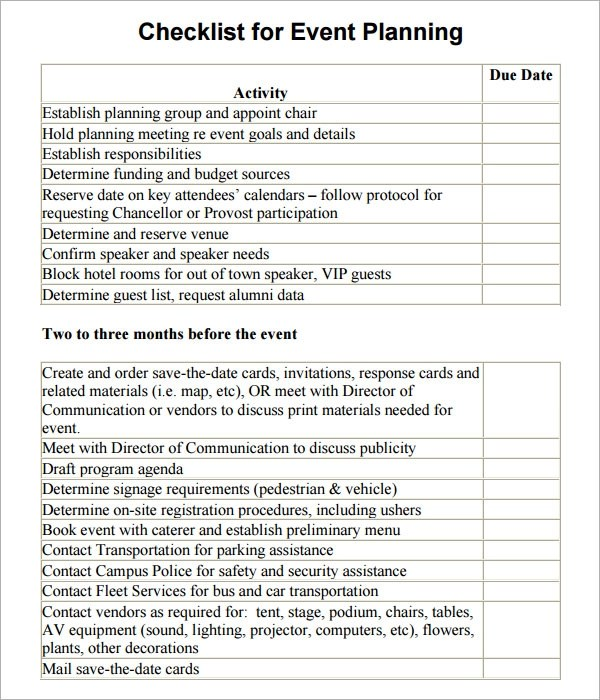 Sample Excel Checklist Template Check Out This Post So That You Can