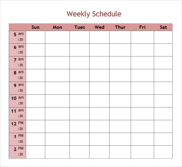 Schedule Template  EnvResumeCloudInterhostsolutionsBe