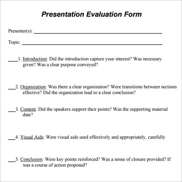 Group Training Evaluation Form | Education On Resume Sample