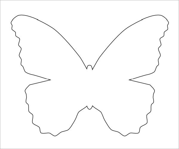 Sample Butterfly - 9+ Documents in PDF - butterfly template