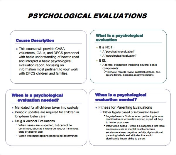 Psychological report writing format Thesis introduction - psychological report