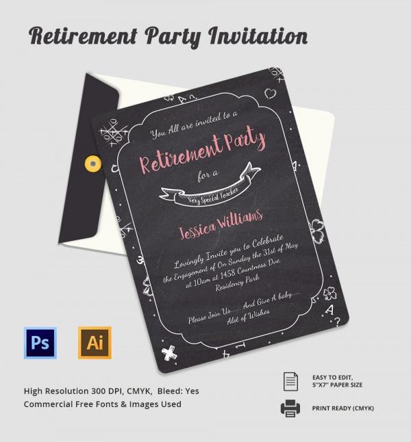 12+ Retirement Party Invitations Sample Templates