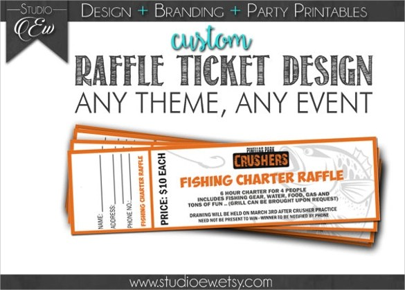 11 Amazing Raffle Flyer Templates to Download Sample Templates