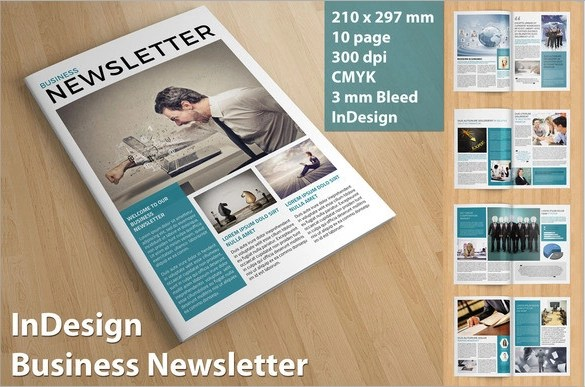 10 Sample Business Newsletter Templates for Premium Download