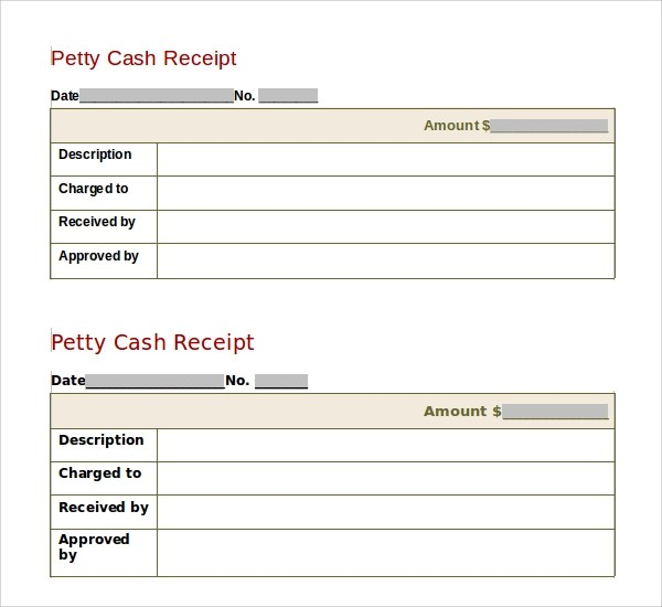 Sample Receipt Template - 25+ Free Documents in PDF, Word, Excel - cash invoice template