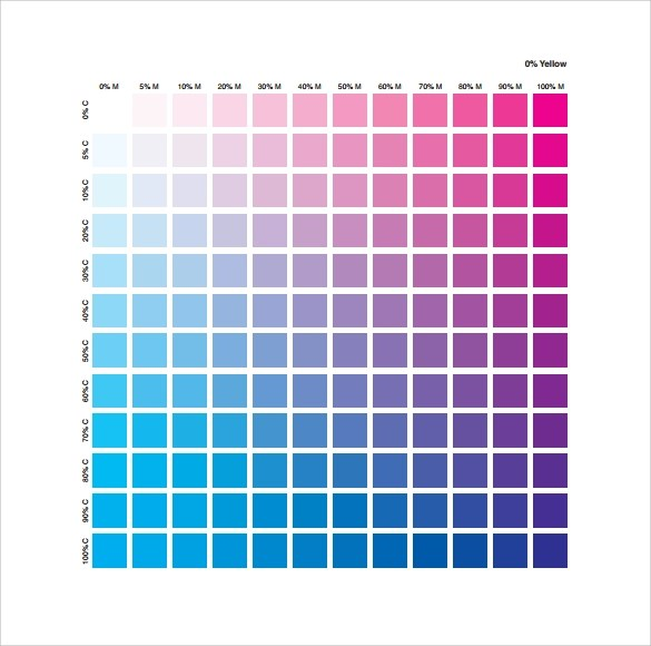 Cmyk Color Chart Cmyk Color Swatch Book Also Chart Pantone Cmyk - sample cmyk color chart