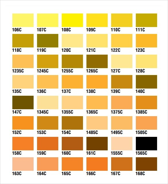 Sample Rgb Color Chart simpletext - sample cmyk color chart