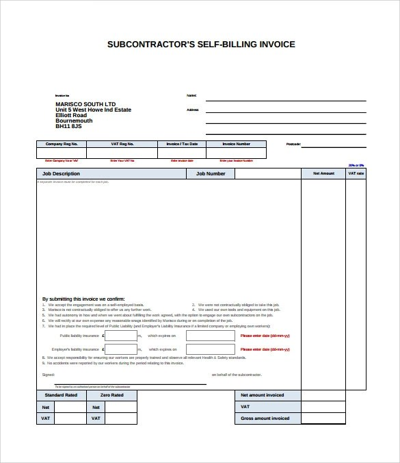 13+ Billing Invoice Samples Sample Templates
