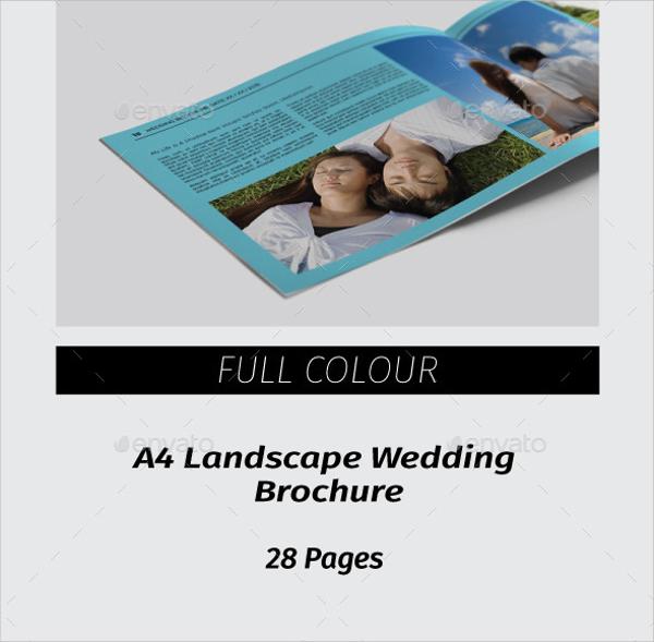 12+ Wedding Brochures Sample Templates - wedding brochure template free