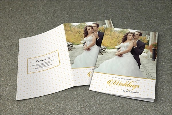 12+ Wedding Brochures Sample Templates - wedding brochure template