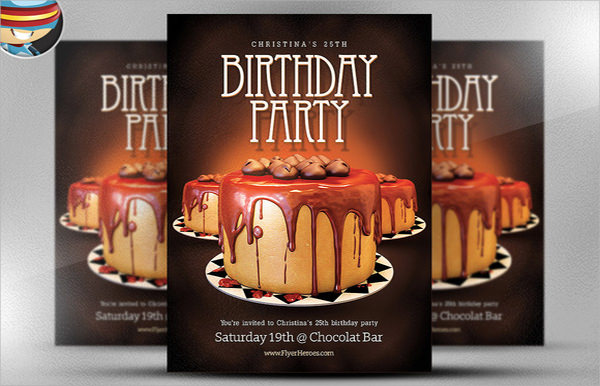 9 Amazing Sample Birthday Flyer Templates to Download Sample Templates