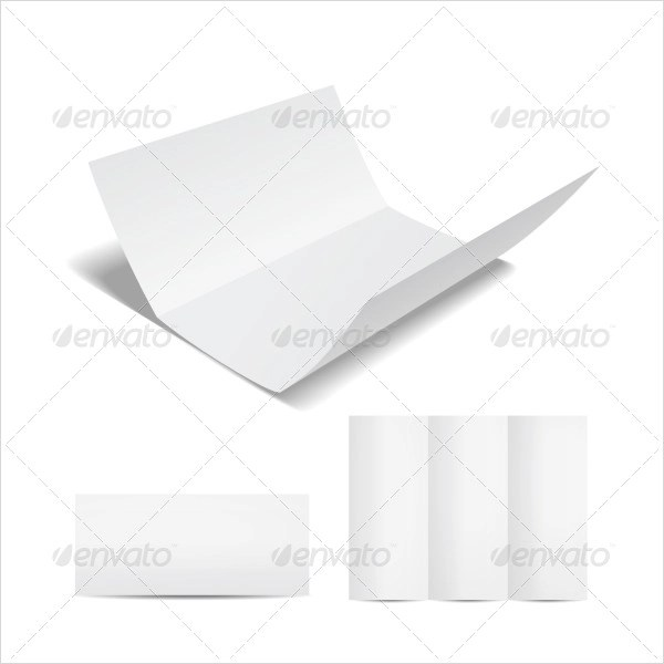 10+ Tri Fold Brochures - PSD, Vector Illustrator - blank tri fold brochure template