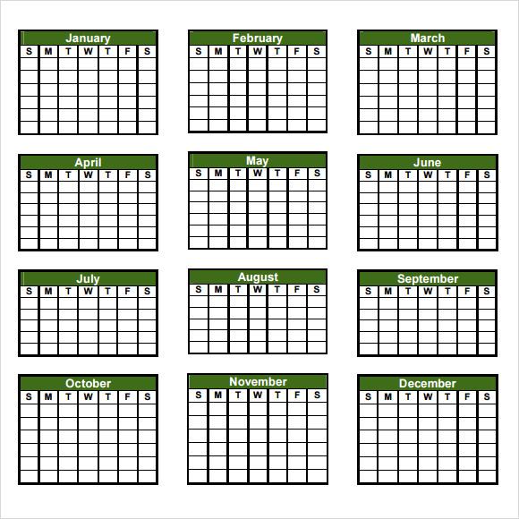 sample annual calendar hitecauto - annual calendar template