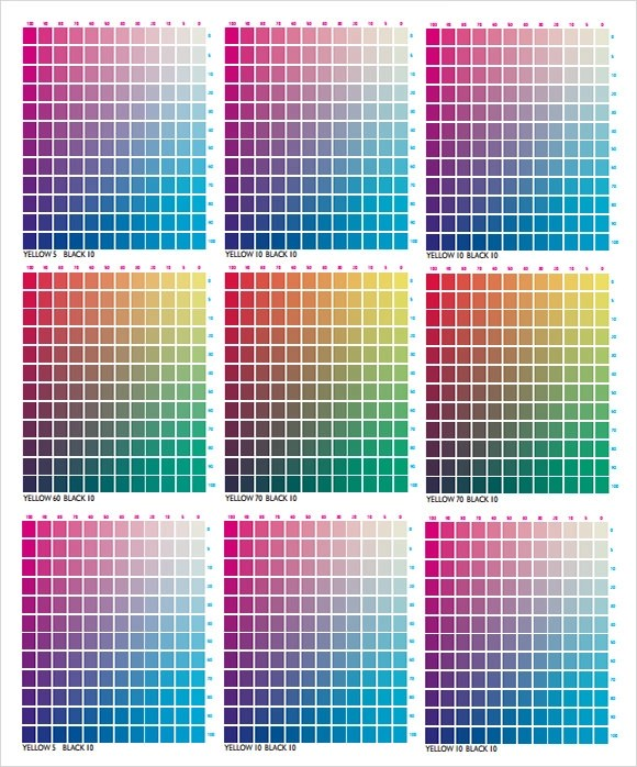 Sample Rgb Color Chart - staruptalent -