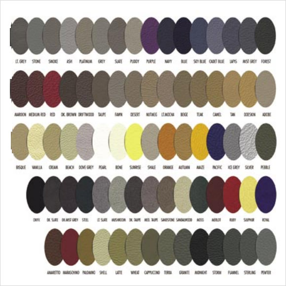11+ Sample General Color Chart Templates Sample Templates - general color chart template