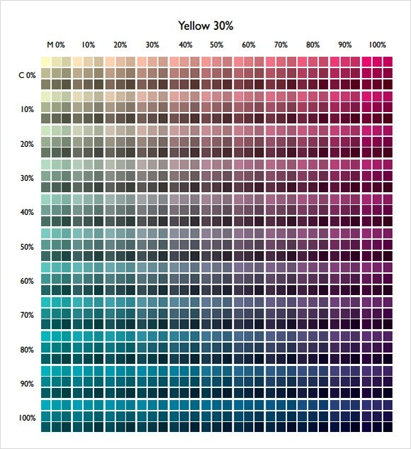 color pdf - Dolapmagnetband - general color chart template