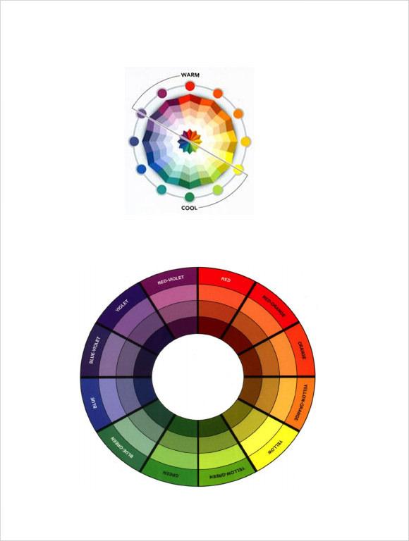 Sample Color Wheel Chart \u2013 7+ Documents In PDF, Word