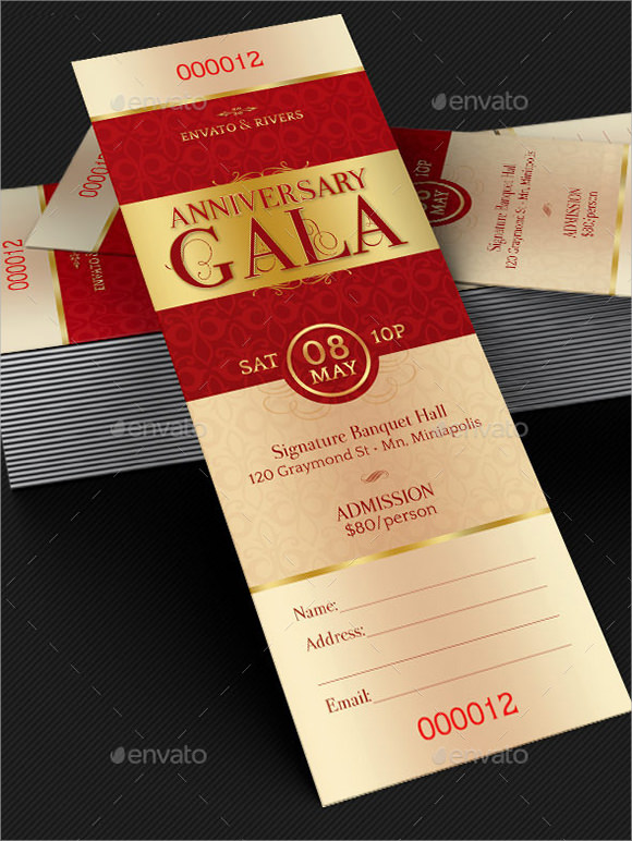 Ticket Invitation Template - ticket invitation