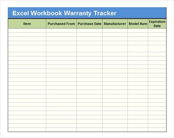 Sample Excel Tracking - 7+ Documents in Excel