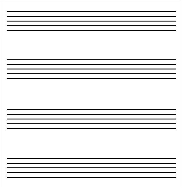 blank music staff - Tomadaretodonate - music staff paper template