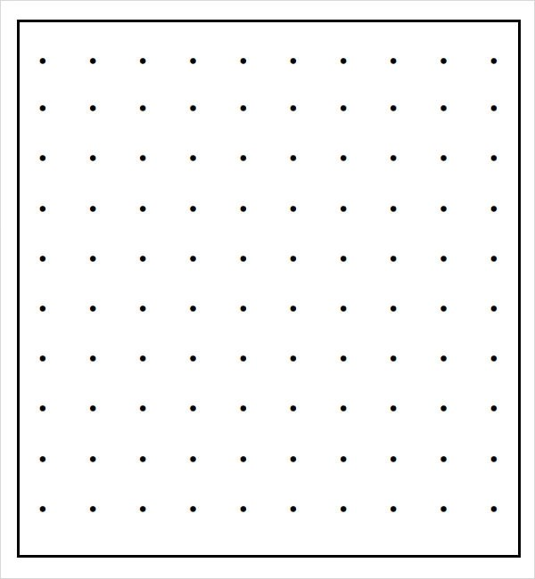 Sample Dot Paper - 10+ Documents in Word, PDF - free graph paper templates