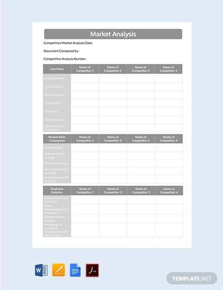 16+ Market Analysis Samples - PDF, Word