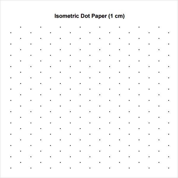 11+ Sample Dot Papers Sample Templates - Printing Paper Template