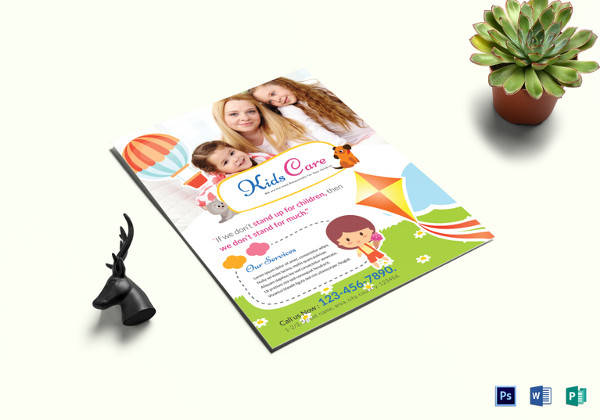 15+ Day Care Flyers Sample Templates - grand opening flyer template