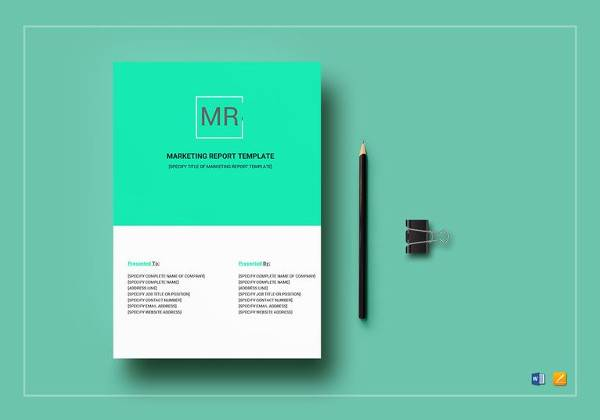 14+ Sample Marketing Report Templates Sample Templates