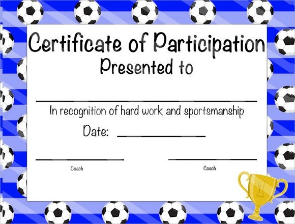 19+ Sample Participation Certificates Sample Templates