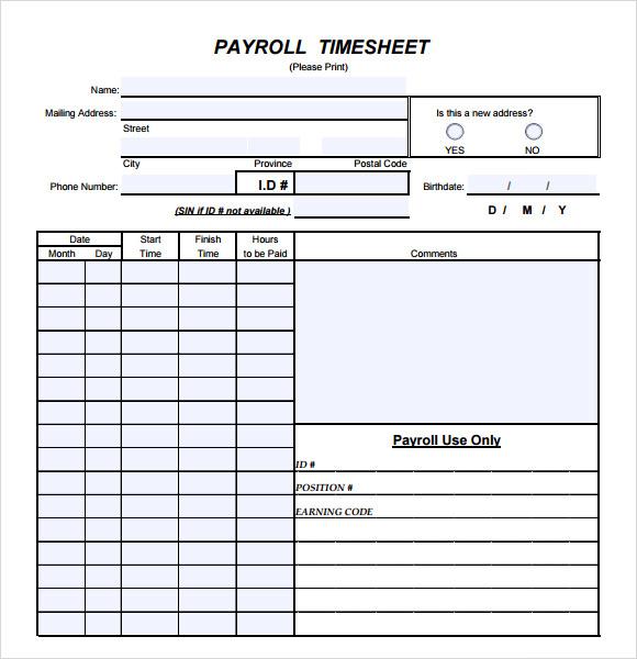 payroll hours template - Holaklonec - employee payroll template