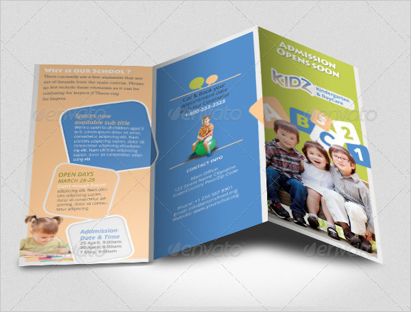 15+ Preschool Brochure - PSD, AI, Google docs, Apple pages