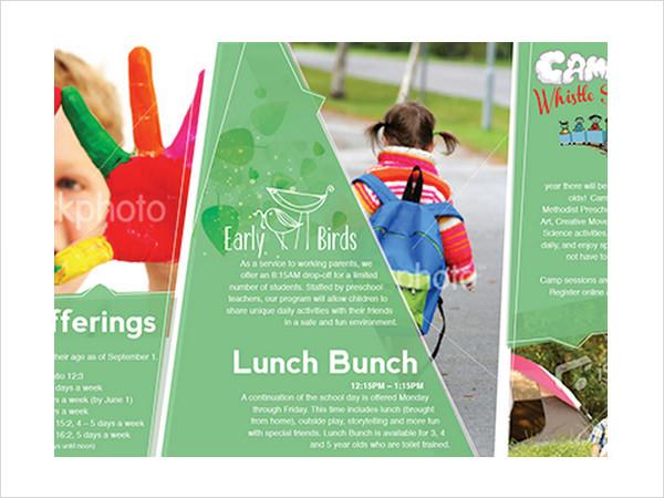 9+ Preschool Brochures Sample Templates